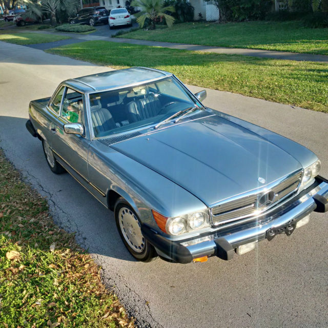 1986 mercedes 560sl convertible for sale mercedes benz for Mercedes benz sl coupe for sale