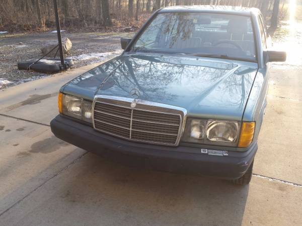 1986 mercedes benz 190d 209 000 miles for sale mercedes for Mercedes benz 190d for sale
