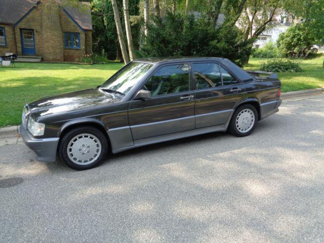 1986 mercedes benz 190e 2 3 16 valve cosworth 78 000 miles for Mercedes benz 190e cosworth for sale