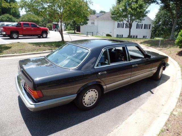 1986 Mercedes Benz 560 Sel For Sale Mercedes Benz 500