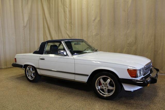 1986 Mercedes Benz 560 Series 560sl 125127 Miles White