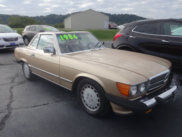 1986 mercedes benz 560 sl convertible for sale mercedes for Mercedes benz sl convertible for sale