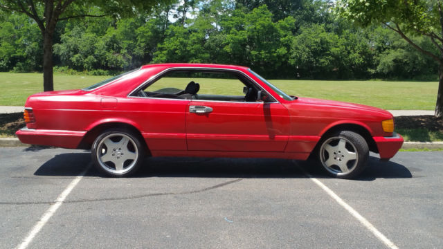 1986 Mercedes Benz 560sec S Class Coupe For Sale