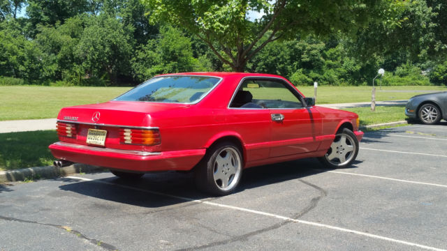 1986 mercedes benz 560sec s class coupe for sale for 1986 mercedes benz 560 sec