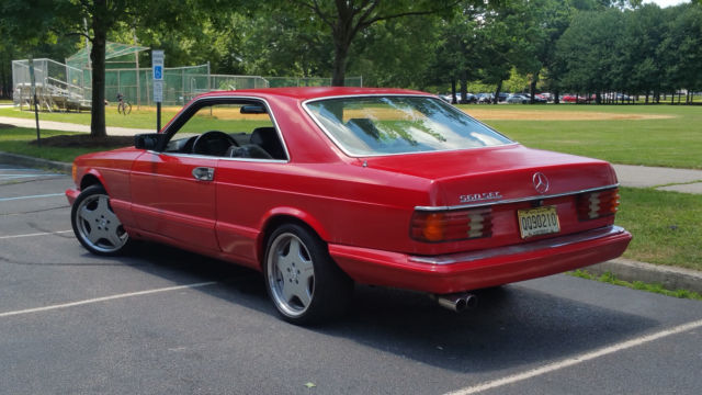 1986 mercedes benz 560sec s class coupe for sale for Mercedes benz s550 coupe for sale