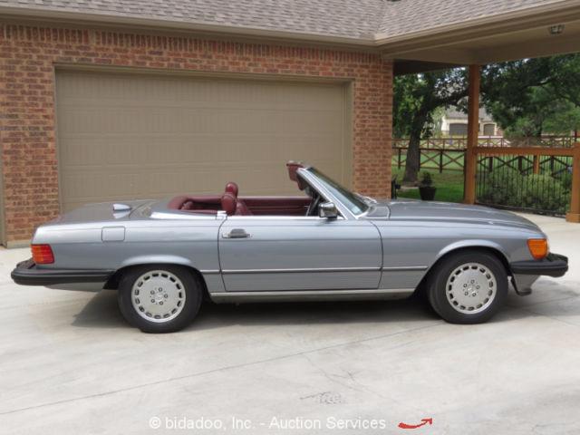 1986 mercedes benz 560sl 2 door convertible roadster w for Mercedes benz hardtop convertible