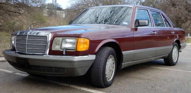 1986 mercedes benz one owner 300 sdl 66 000 original miles for Mercedes benz 300sdl for sale