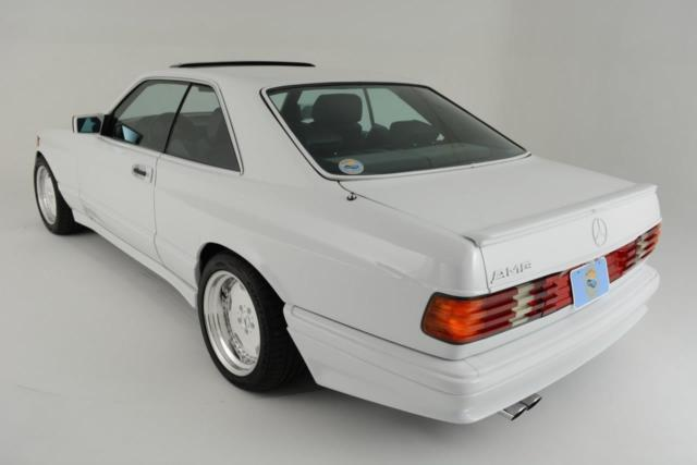 1986 Mercedes SEC AMG Hammer 6 0 DOHC Widebody for sale