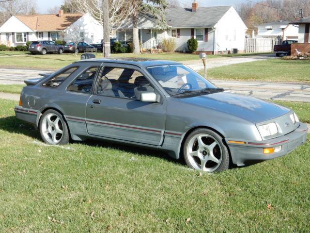1986 Merkur Xr4ti 40k Original Miles Carlisle Give Away Car 2005