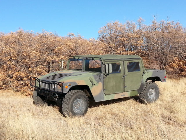 1986 military humvee m998 approved for colorado on road. Black Bedroom Furniture Sets. Home Design Ideas