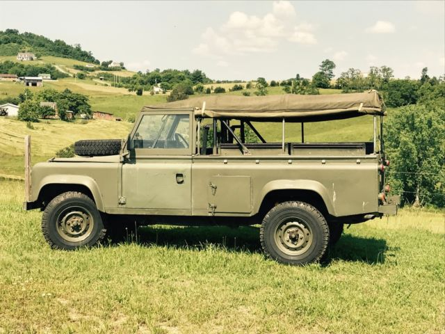 1986 military land rover defender 110 for sale land rover defender 1986 for sale in. Black Bedroom Furniture Sets. Home Design Ideas