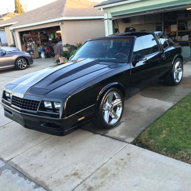 1986 Monte Carlo SS - TTops - REAL SS for sale - Chevrolet Monte