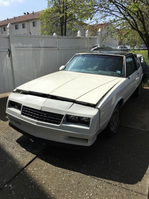 1986 monte carlo ss with t tops for sale chevrolet monte carlo 1986 for sale in staten island. Black Bedroom Furniture Sets. Home Design Ideas