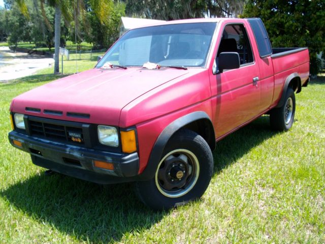 1997 Nissan Hardbody Truck Se Extended Cab 4x4 5 Speed Manual Guide