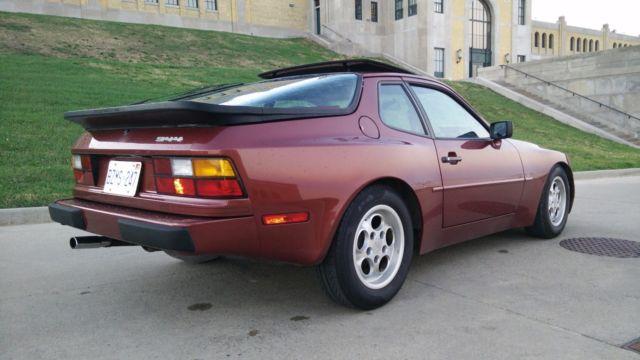 1986 Porsche 944 5 Spd Garnet Red Met Recaro Power
