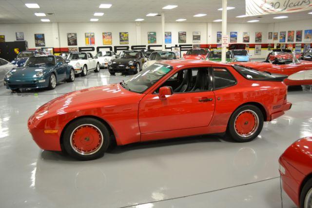 1986 Porsche 944 Turbo 73514 Miles Guards Red Hatchback I4 2 5l M For Sale Porsche 944 Turbo 1986 For Sale In Local Pick Up Only