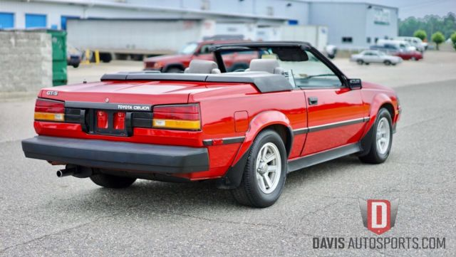 1986 rare celica gt s supra convertible new paint top more 00 invested for sale toyota. Black Bedroom Furniture Sets. Home Design Ideas