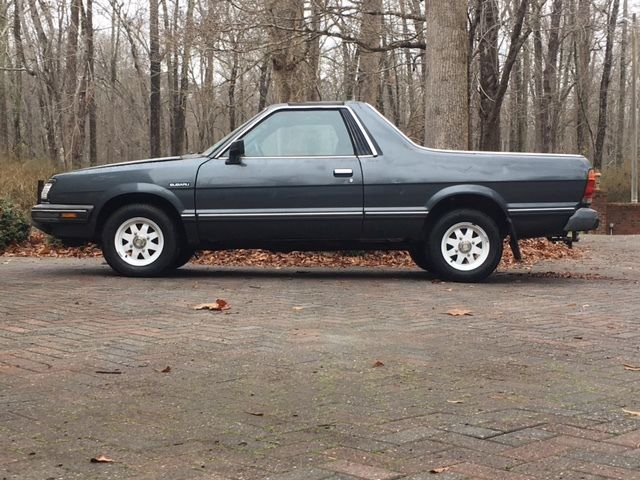 1986 subaru brat gl 4x4 dual range hi low fwd 183k miles. Black Bedroom Furniture Sets. Home Design Ideas