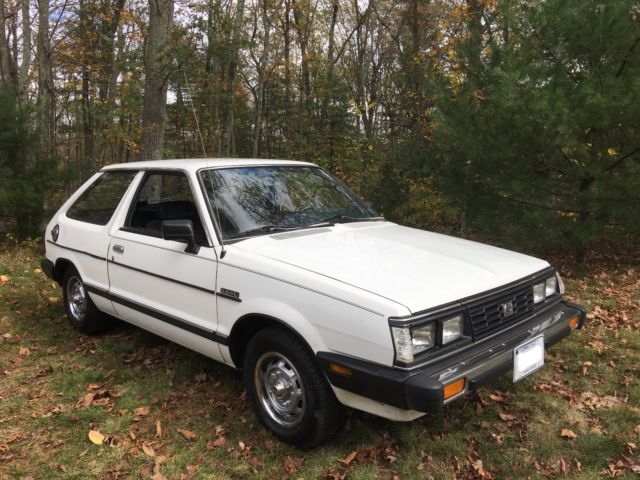 1986 Subaru Gl 2wd 5 Speed Great Condition 109k Miles For