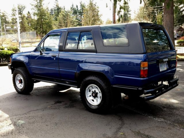 1986 toyota 4 runner 4x4 5 speed 22re 4 39 cyl eng 39 125k orig miles rust free nice for sale. Black Bedroom Furniture Sets. Home Design Ideas
