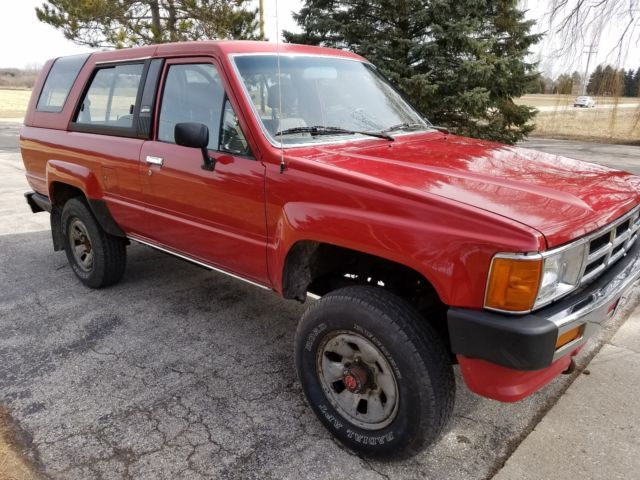 1986 toyota 4 runner classic 81274 miles no reserve for sale toyota 4runner 1986 for sale in. Black Bedroom Furniture Sets. Home Design Ideas