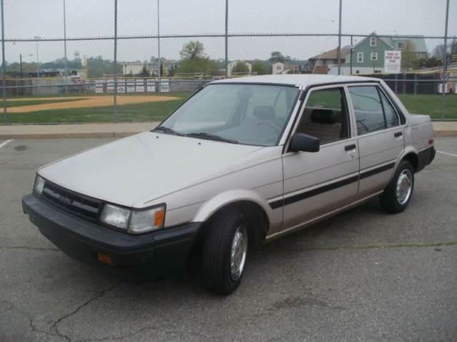 1986 Toyota Corolla Gas Saver 4 Cylinder Like Honda Acura