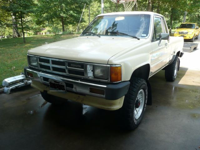 1986 Toyota Extended Cab 4x4 4wd Automatic Transmission