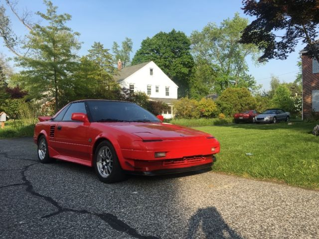 1986 toyota mr2 4age 20v silvertop no rust for sale toyota mr2 1986 for sale in wallingford. Black Bedroom Furniture Sets. Home Design Ideas