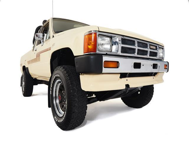 1986 toyota tacoma 118 983 miles beige truck 4 cylinder automatic for sale toyota tacoma. Black Bedroom Furniture Sets. Home Design Ideas
