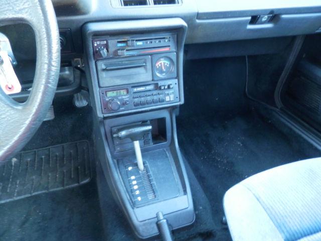 1986 Volkswagen Scirocco 79k Original Miles For Sale