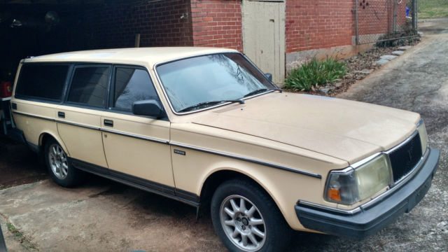 1986 Volvo 240 Wagon Manual Transmission for sale - Volvo