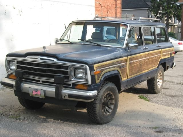 Jeep Columbus Ohio >> 1987 AMC Jeep Grand Wagoneer V8 360 4WD Automatic *Very Restorable* Project for sale - Jeep ...