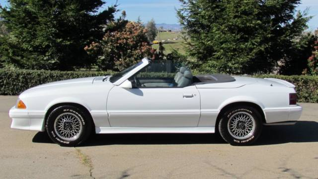 Mustang Limited Edition Oxford White Interior Paint