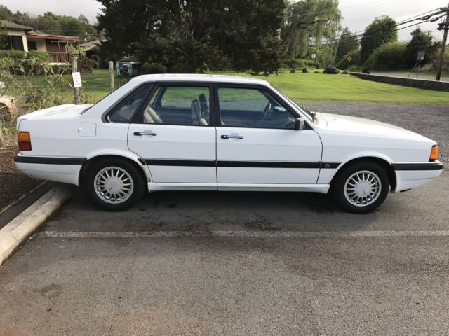 1987 AUDI 4000CS OUATTRO-ONE OWNER!!!! for sale - Audi ...