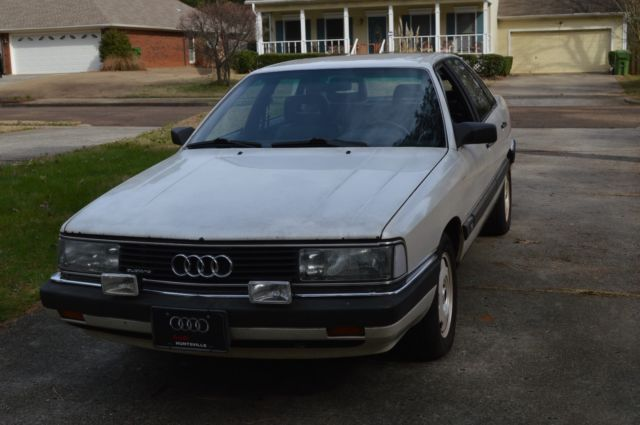 1987 Audi 5000 Cs Turbo Quattro For Sale Audi 5000