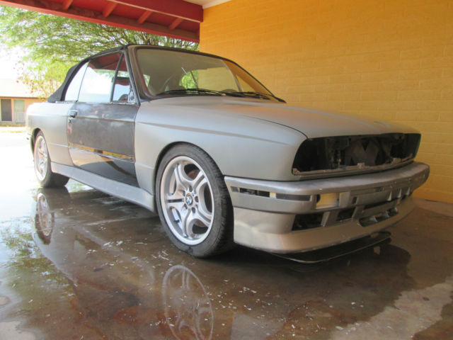 1987 BMW 325ic m3 convertible tribute / clone Project for sale - BMW ...