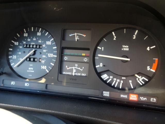 1987 BMW 528E SUPER ETA! ORIGINAL CALIFORNIA E28 RARE 5