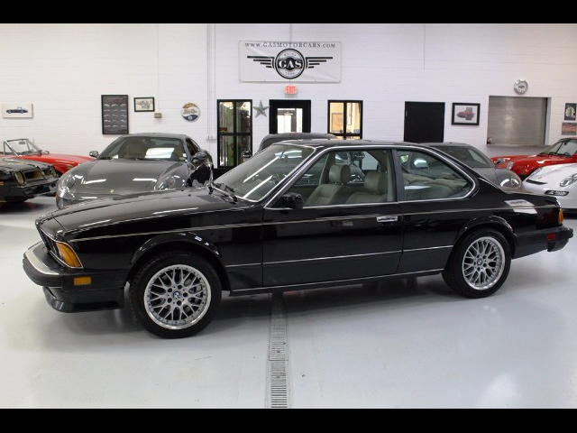 1987 Bmw 6 Series 635csi 248743 Miles Black Straight 6 Cylinder Engine 3 4l 209 For Sale Bmw 6
