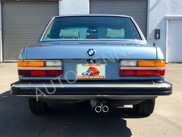 1987 Bmw E28 535i M Manual Restoration K Invested