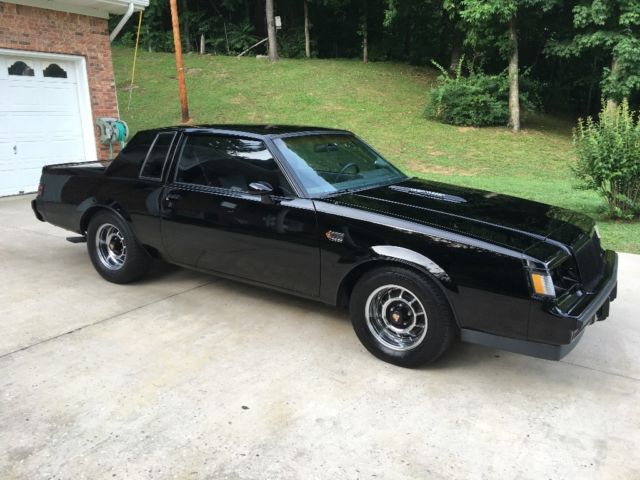 1987 buick grand national no reserve excellent condition turbo gnx 1986 for sale buick. Black Bedroom Furniture Sets. Home Design Ideas