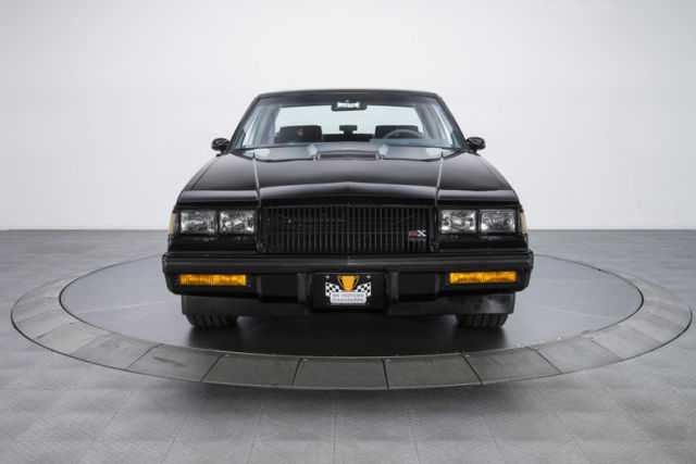 1987 buick regal gnx 841 miles black coupe 3 8 v6 turbo 4 speed automatic for sale buick regal. Black Bedroom Furniture Sets. Home Design Ideas