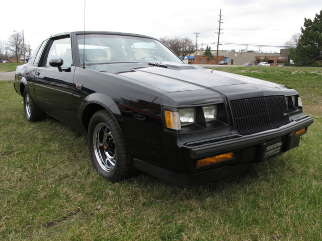 1987 buick regal grand national t tops 55 257 miles same owner for 27 years for sale buick. Black Bedroom Furniture Sets. Home Design Ideas