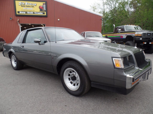 1987 buick regal limited t type turbo coupe very low production number low miles for sale. Black Bedroom Furniture Sets. Home Design Ideas