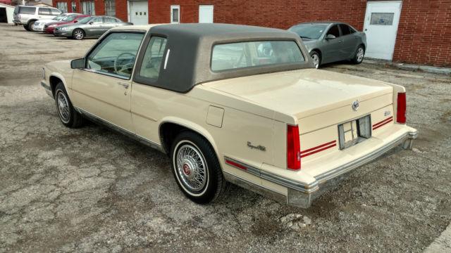 1987 Cadillac DeVille Coupe de Ville Coupe 2-Door 4.1L & 1987 Cadillac DeVille Coupe de Ville Coupe 2-Door 4.1L for sale ...