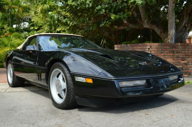 1987 callaway twin turbo corvette convertible for sale chevrolet corvette callaway twin turbo. Black Bedroom Furniture Sets. Home Design Ideas