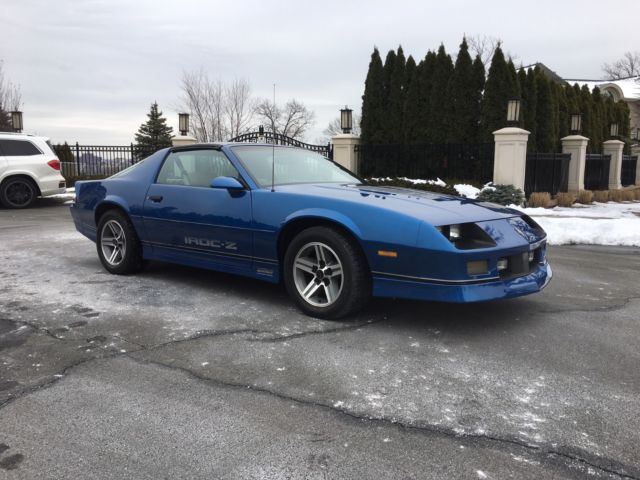 1987 Camaro Iroc Z28 5 0 T Tops 46k Miles For Sale
