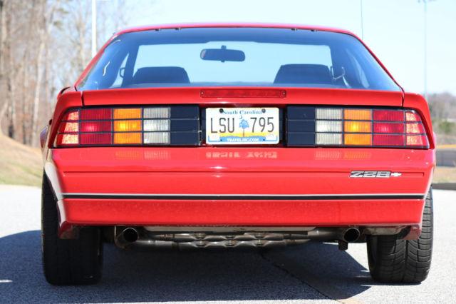 1987 Camaro Only 8k Original Miles Iroc Z All Original