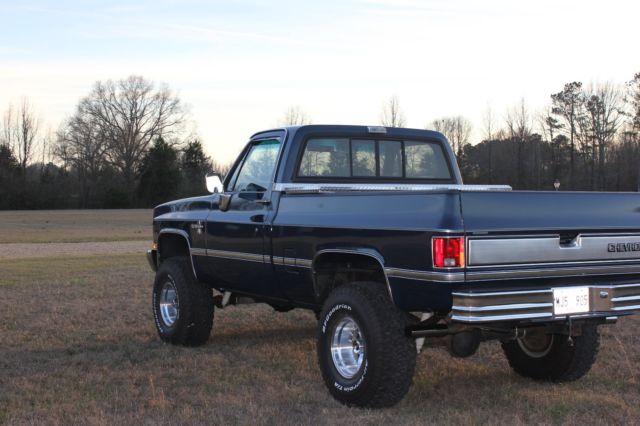 1987 Cheverolet Silverado 4X4 for sale Chevrolet C 10