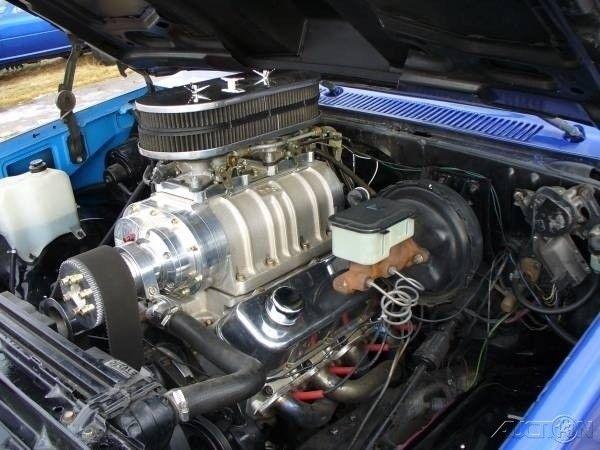 1987 Chevrolet 2500HD V20 Scottsdale 496 B B C V8 Engine, 4WD Pickup