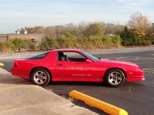 1987 Chevrolet Camaro Very Solid Iroc Z New Paint 85 86